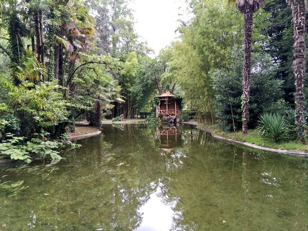 Rincones del Jardín del Parque Natural del señorio de Bertiz