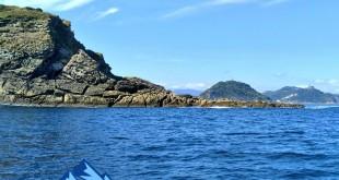 La Concha desde el mar, desde el barco a pasaia