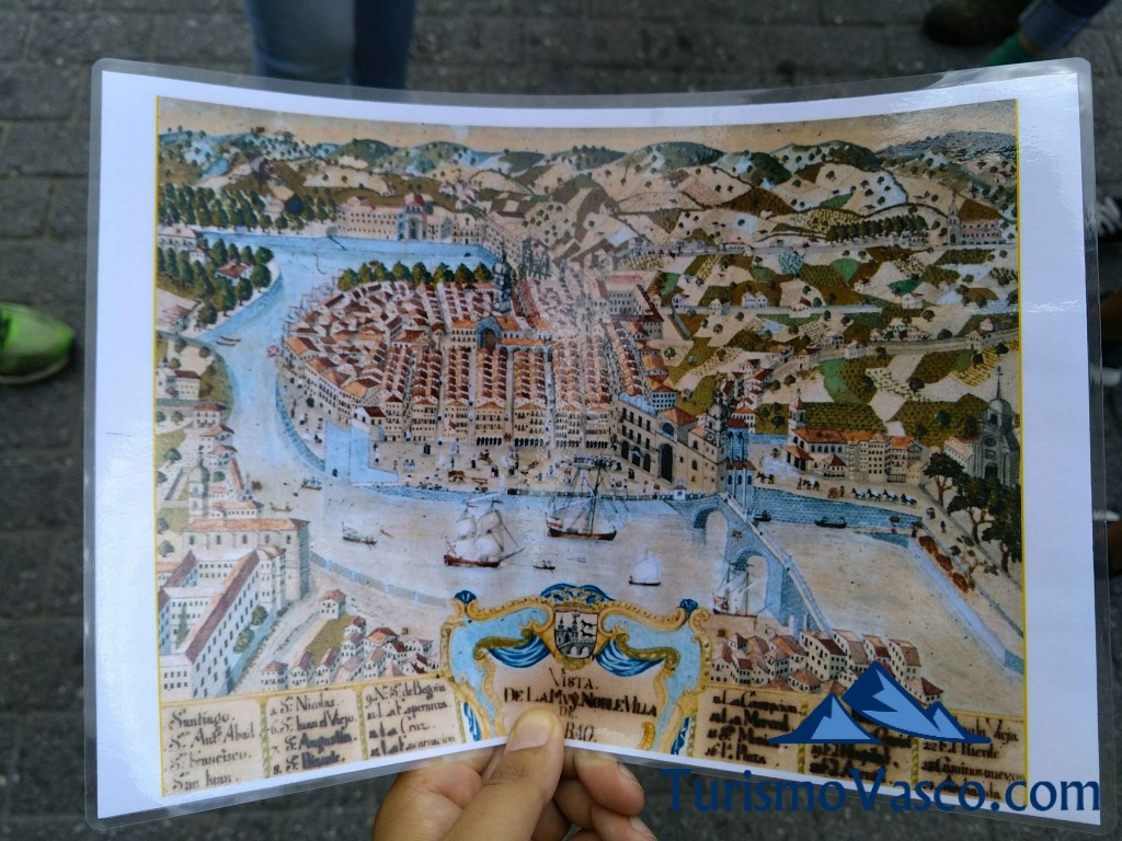Plano Casco Viejo de Bilbao