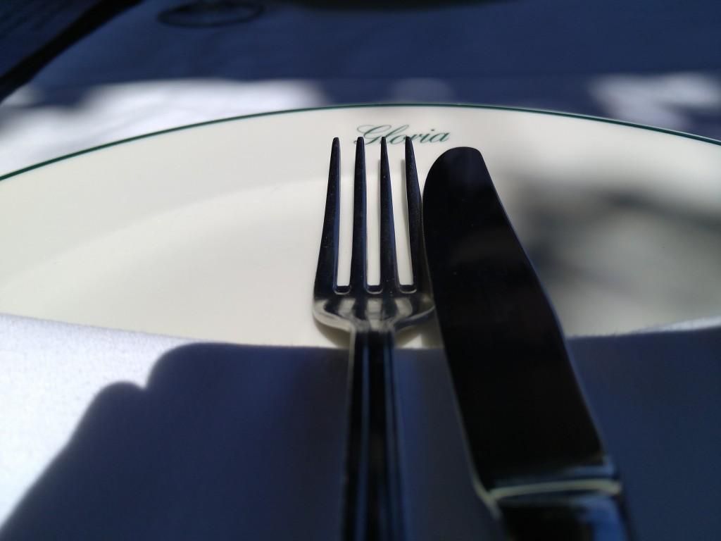 Plato restaurante Gloria