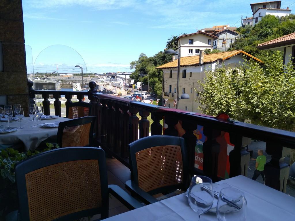 Vistas desde el restaurante Gloria, terraza