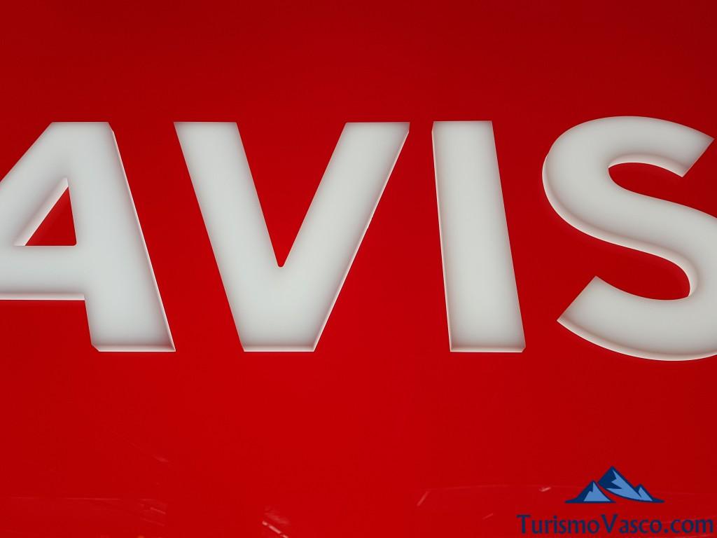 Alquiler de coches aeropuerto de Bilbao, Avis