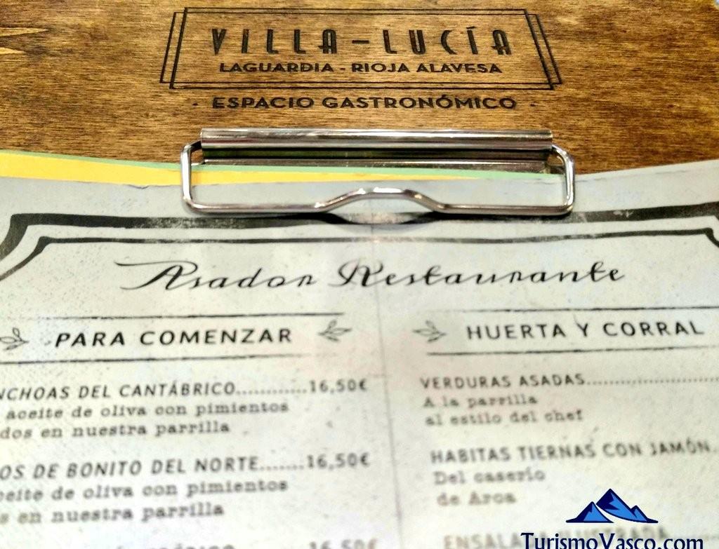 Carta Villa Lucia, Laguardia