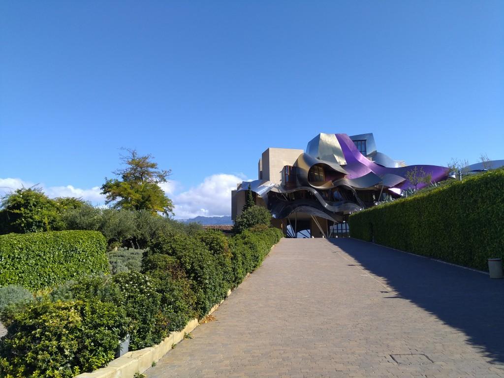 La ciudad del Vino de la bodega Marqués de Riscal