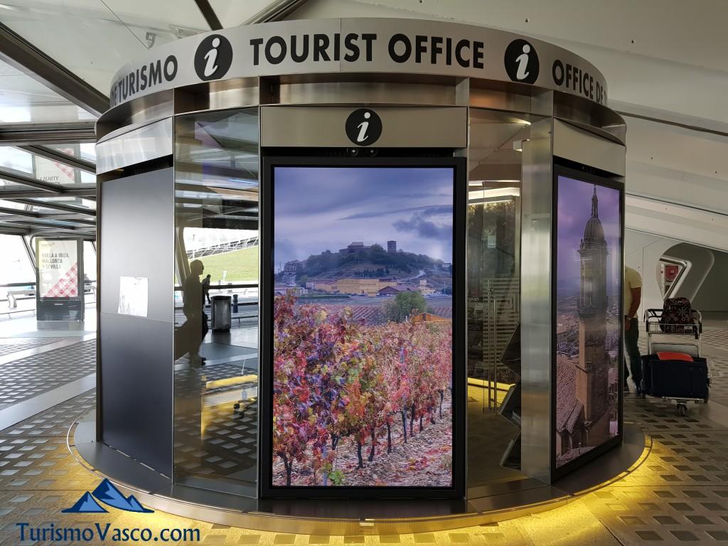 Oficina de turismo del aeropuerto de Bilbao