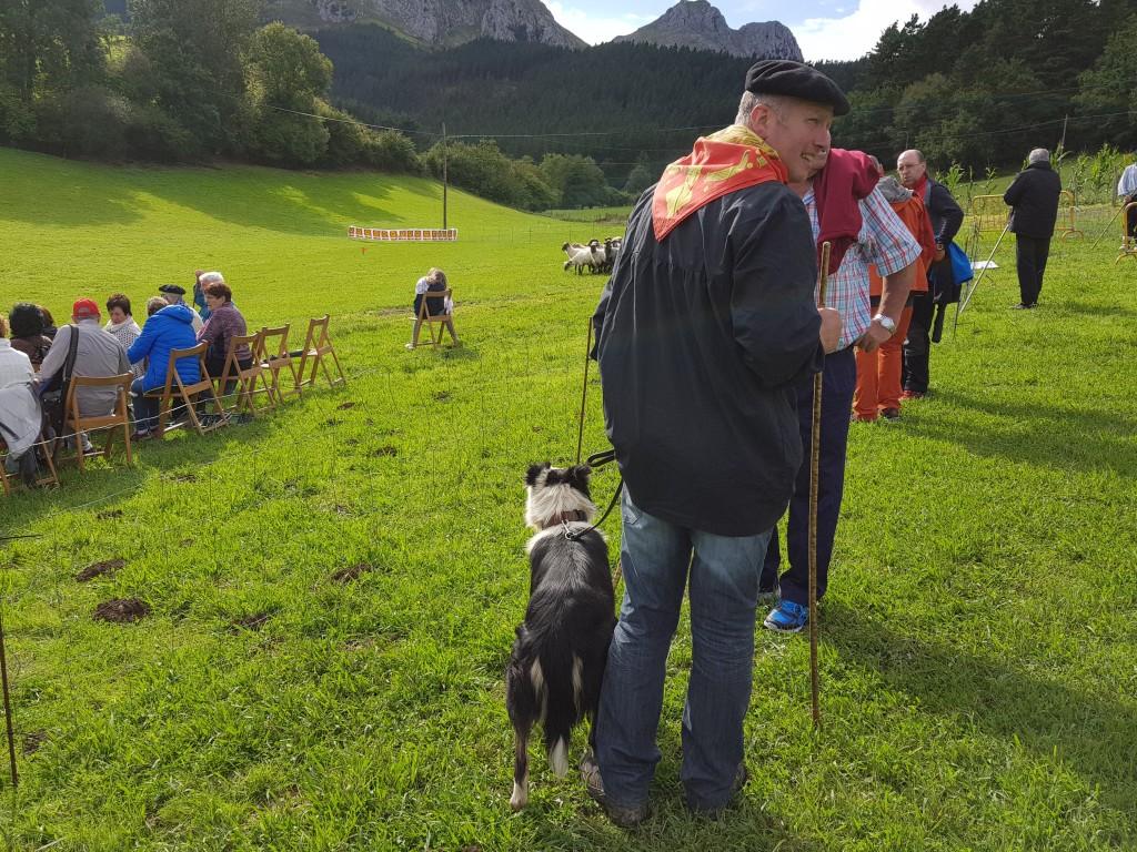 Pastores de Iparralde, Campeonato de perros pastores de Euskal Herria