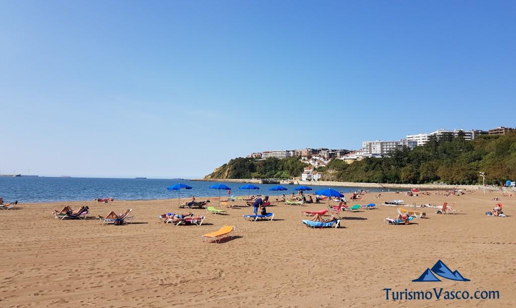 Playa de Ereaga, Getxo