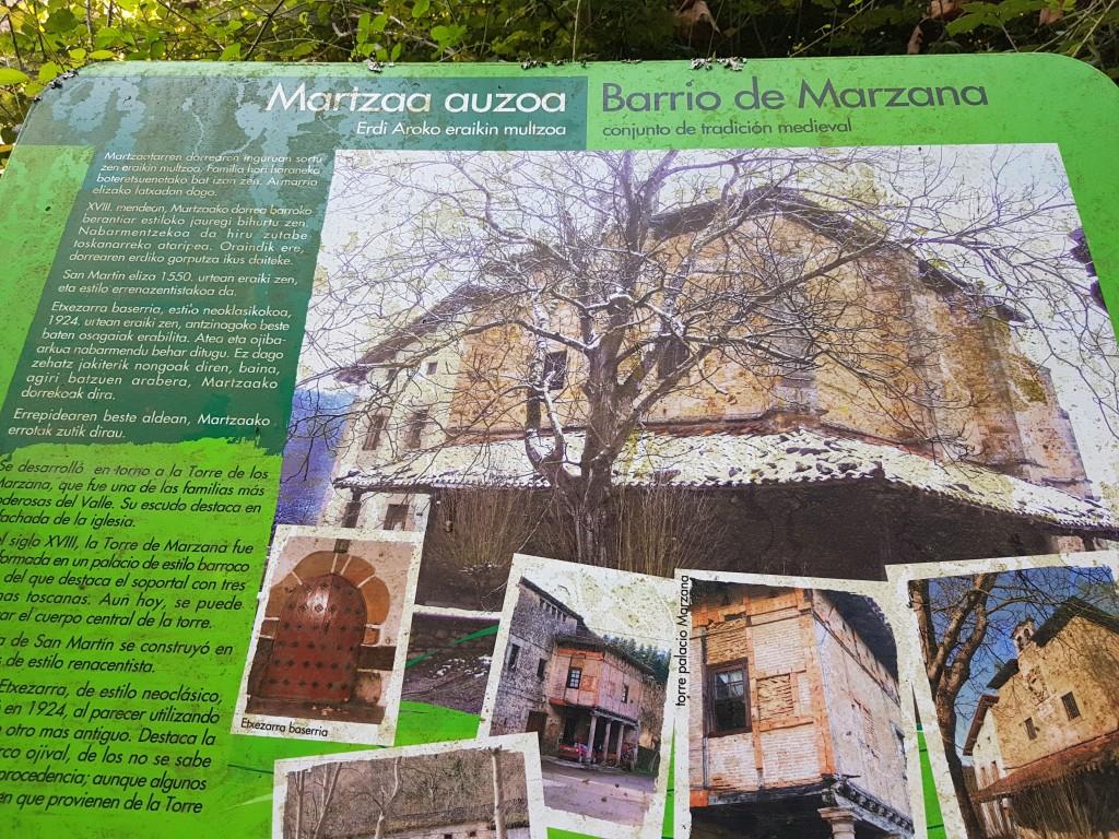 Barrio de Marzana, vía verde de Arrazola