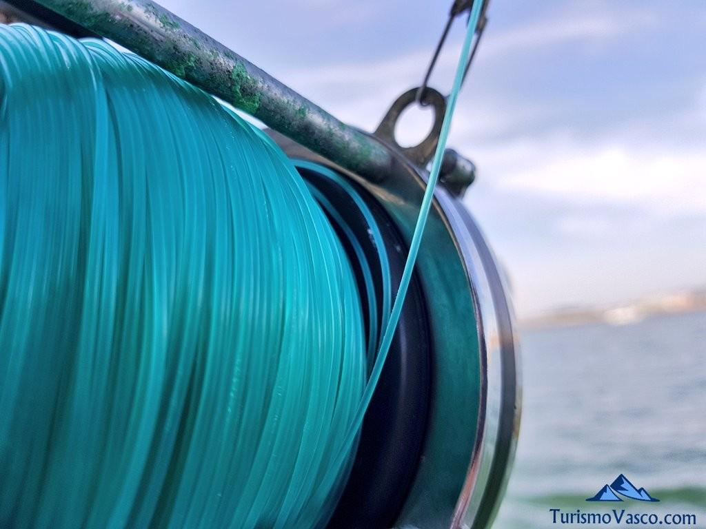 Carrete, pescar en Euskadi