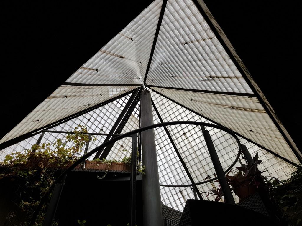 Cupula de las galerias subterraneas de Olite