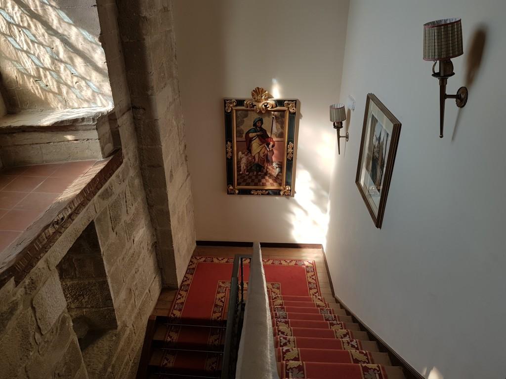 Escaleras del Parador de Olite