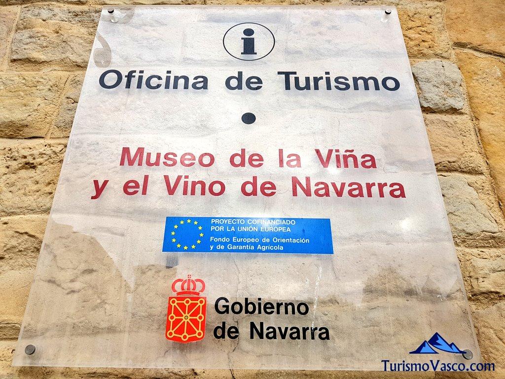 Museo de la vi a y el vino de navarra for Oficina turismo roma