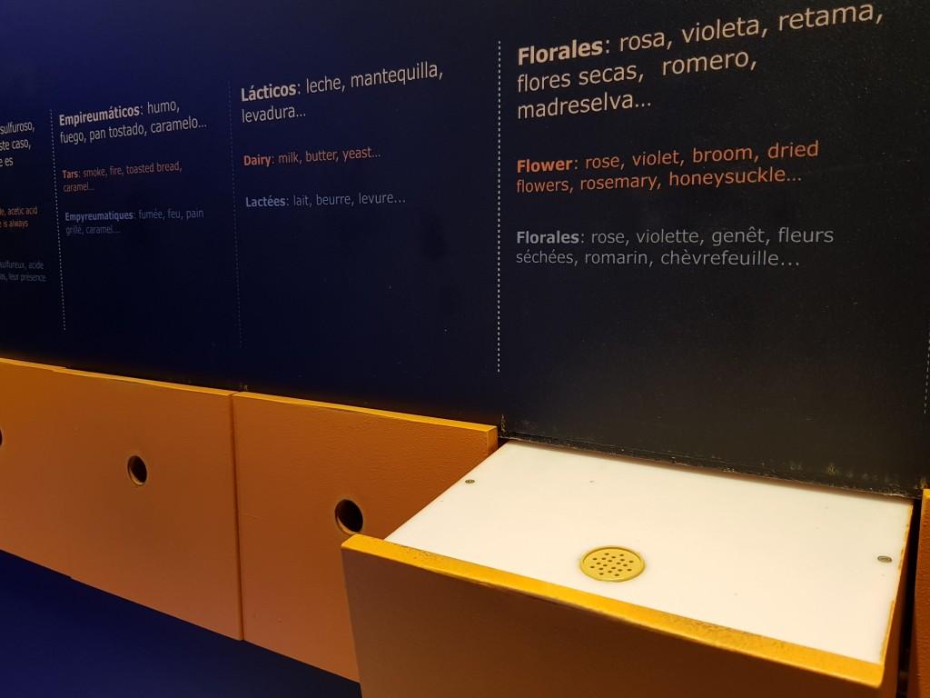 Olores en el Museo de la Viña y el Vino de Navarra
