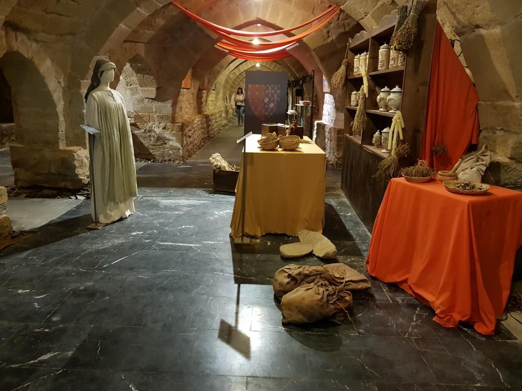 Parte de las galerias subterraneas de Olite