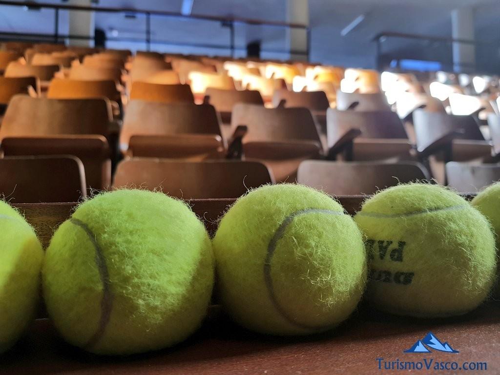 Pelotas de tenis para apuestas en los frontones, Galarreta Jai Alai