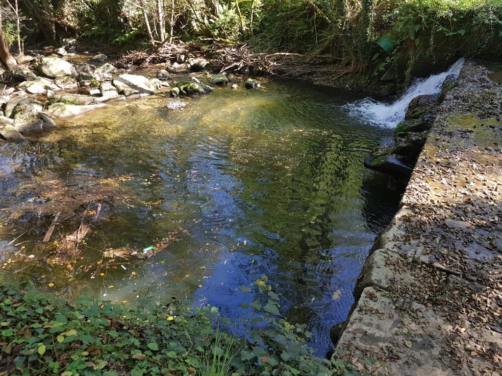 Rio Arrazola, vía verde de Atxondo