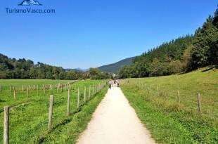 Via verde de Arrazola en Axpe Atxondo