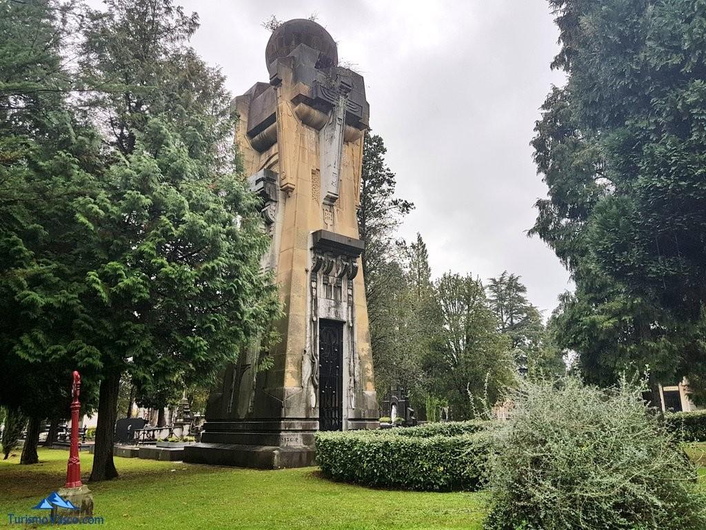 Capilla Chávarri, cementerio de Bilbao