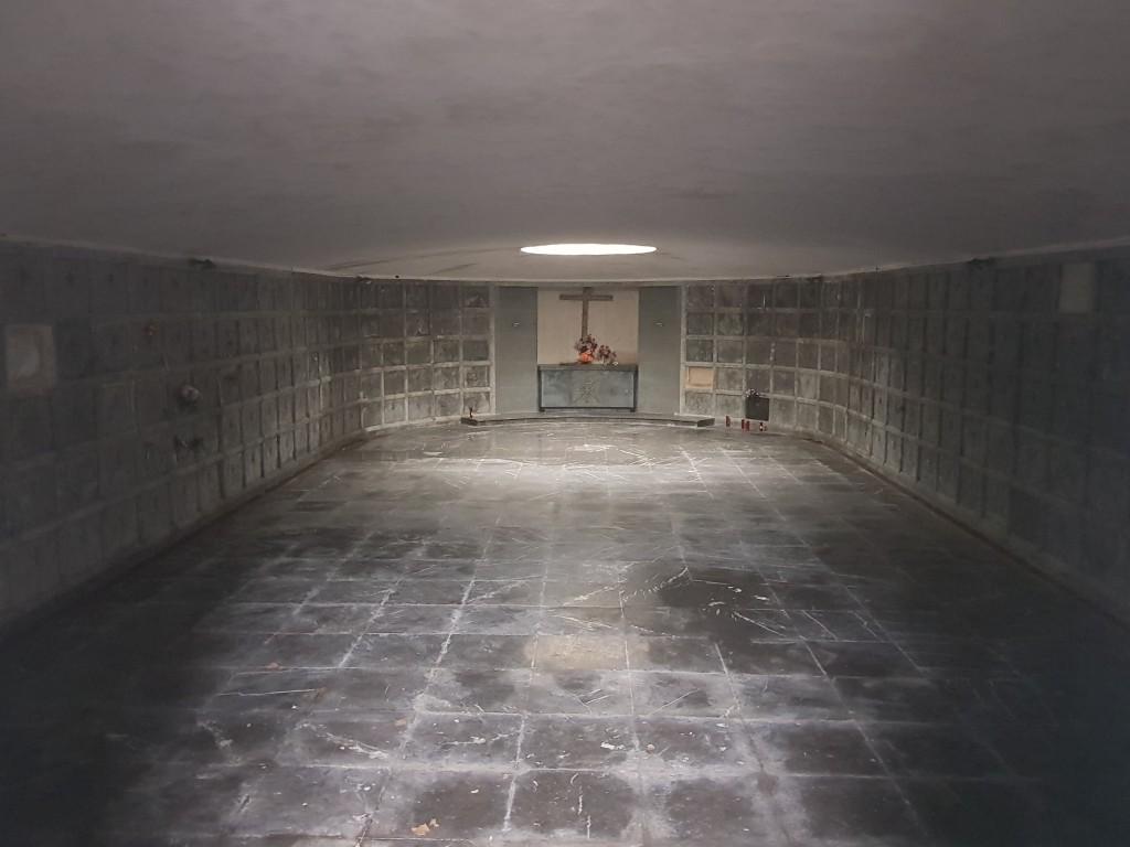 Cripta cementerio de Bilbao