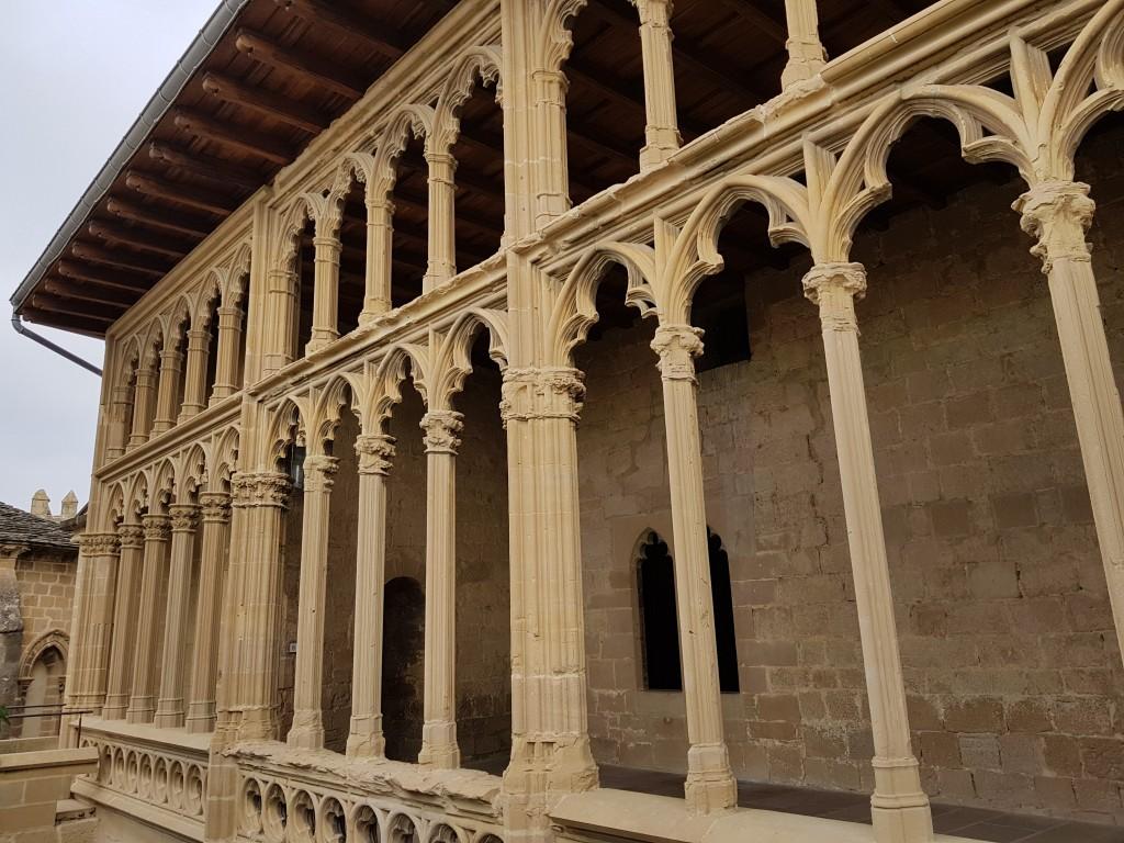 Galerias del rey, Castillo de Olite