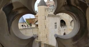 Interior del Castillo de Olite