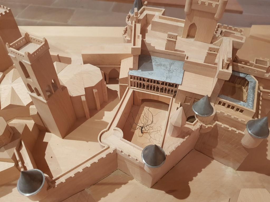 Maqueta del Castillo de Olite