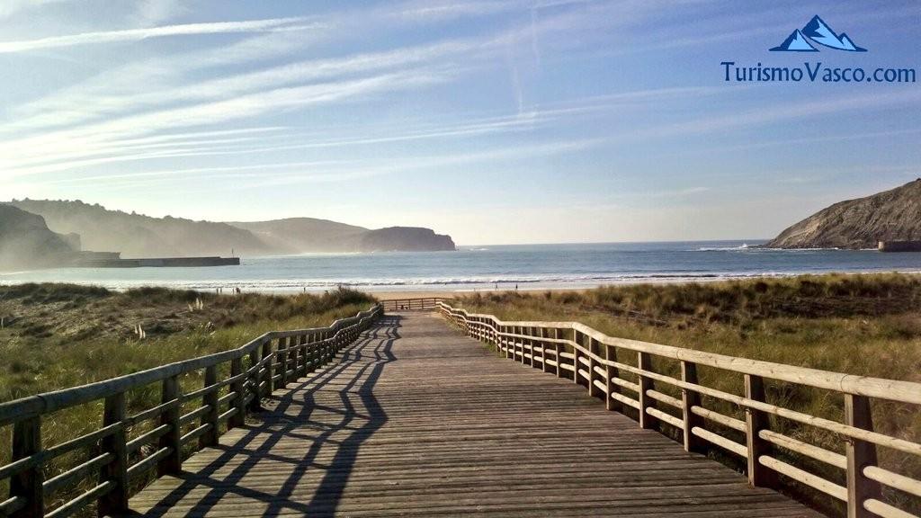 Playa de Gorliz, paseo