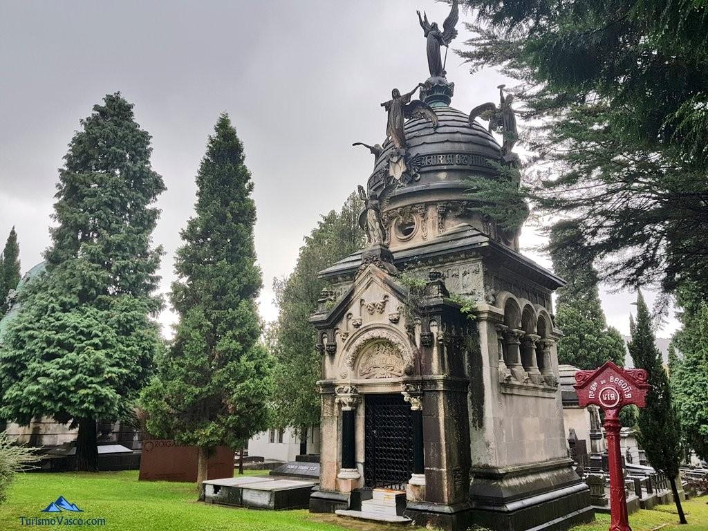 Plza de nuestra señora de Begoña, cementerio de Bilbao