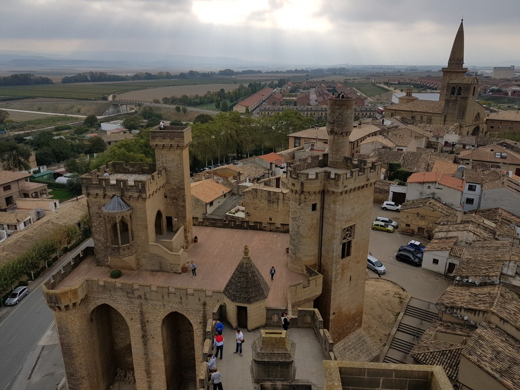 Torres del castillo de Olite