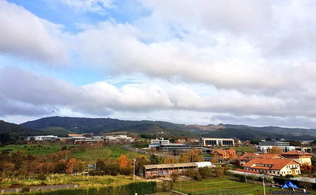 Vistas del Parque Tecnologico de Zamudio desde el Hotel