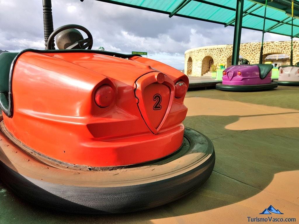 Autochoques del Parque de atracciones Monte Igeldo