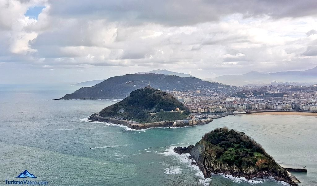 Donostia San Sebastian desde Igeldo