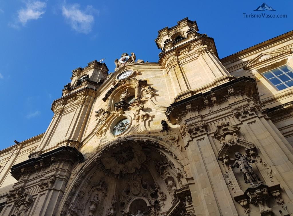 Iglesia Santa Maria Donostia parte vieja