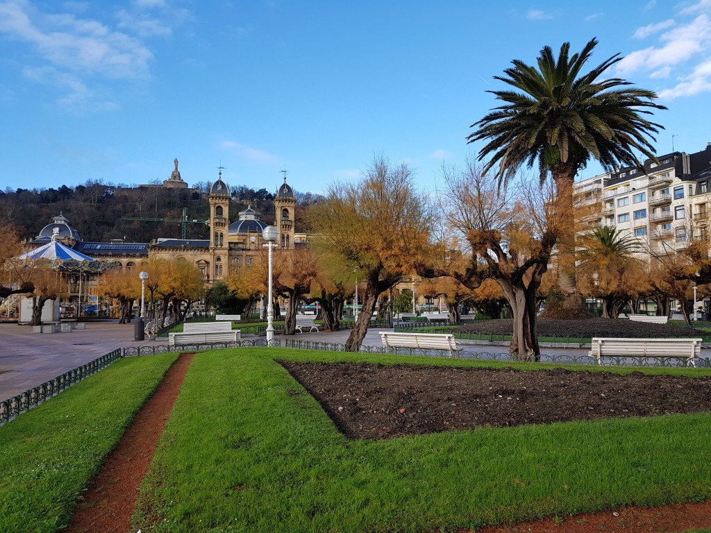 Jardines de Alderdi Eder, Donostia ayuntamiento
