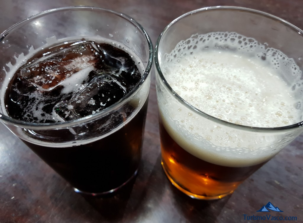 Kalimotxo y cerveza
