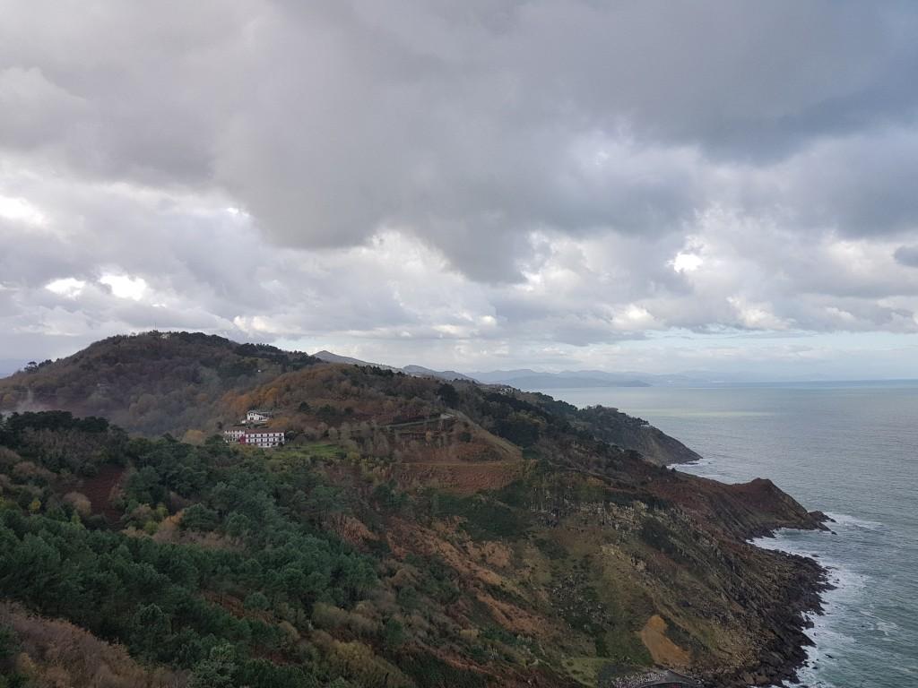 Vistas desde Igeldo, Orio
