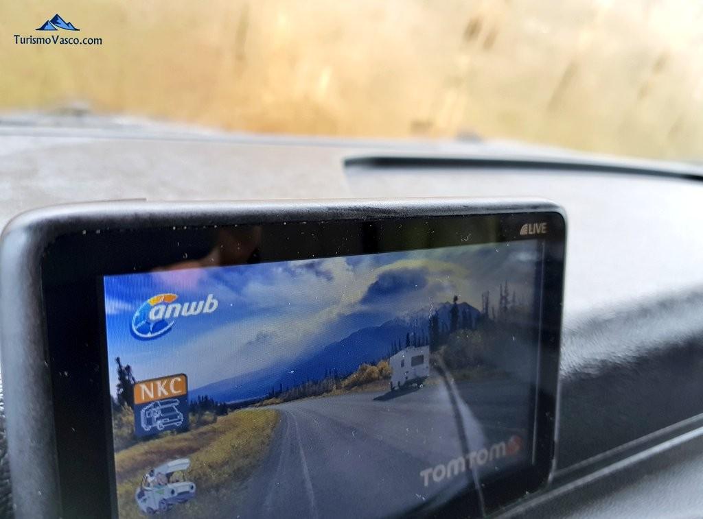 Alquiler de autocaravas en Euskadi, GPS