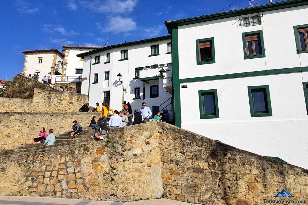 Escaleras del puerto viejo de Algorta