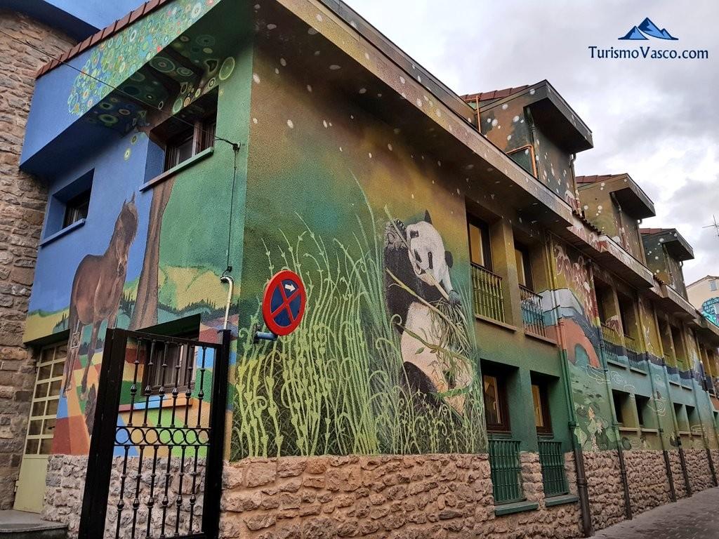 Ruta de los murales continentes 2