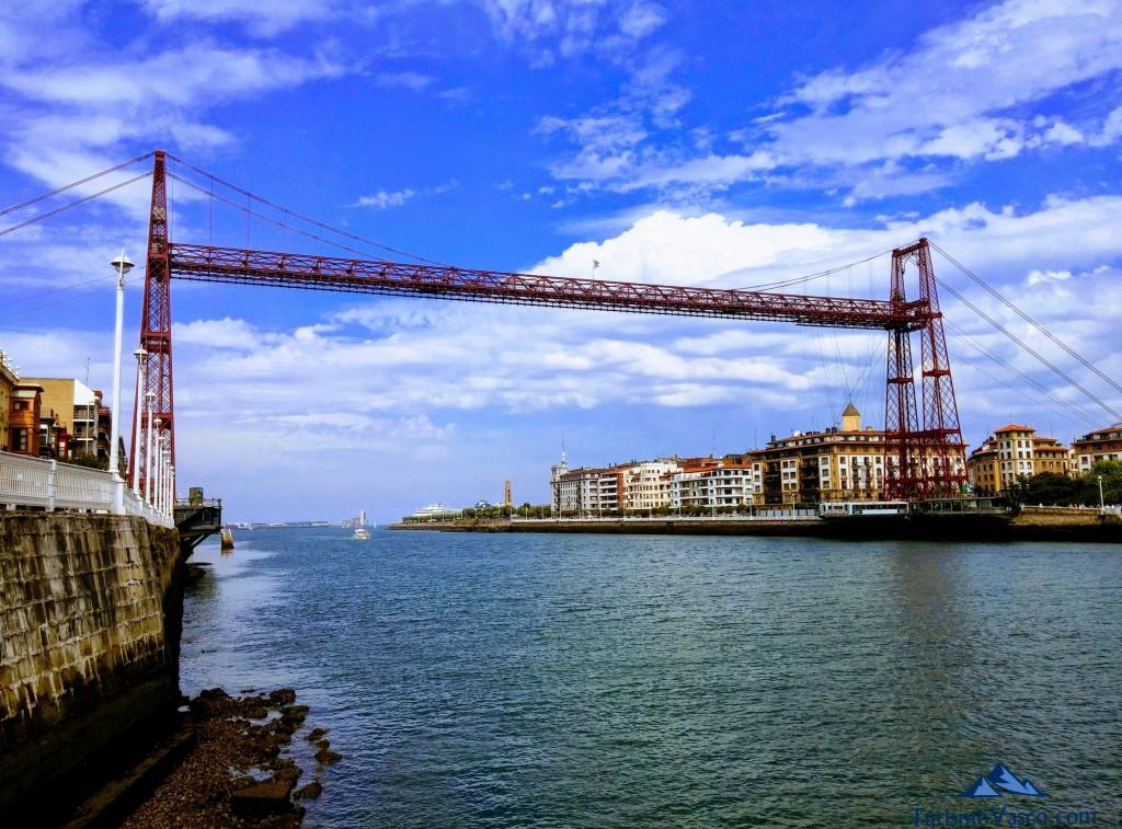 Puente Colgante, Puente Bizkaia