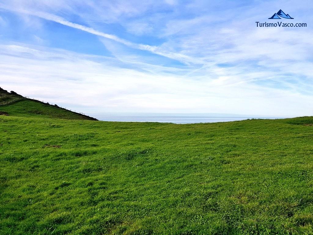 Verde y azul, monte y mar