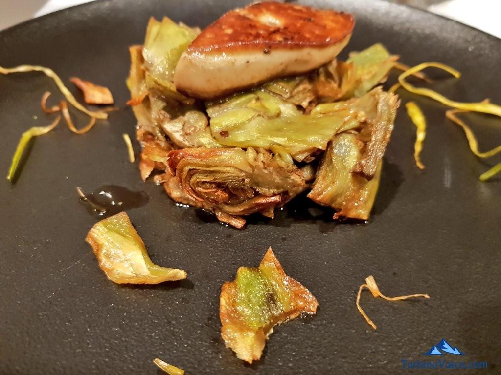 corona de alcachofas restaurante 33 tudela