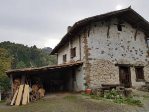 Baserri, caserio, entre Gorostiza y El Regato, Barakaldo