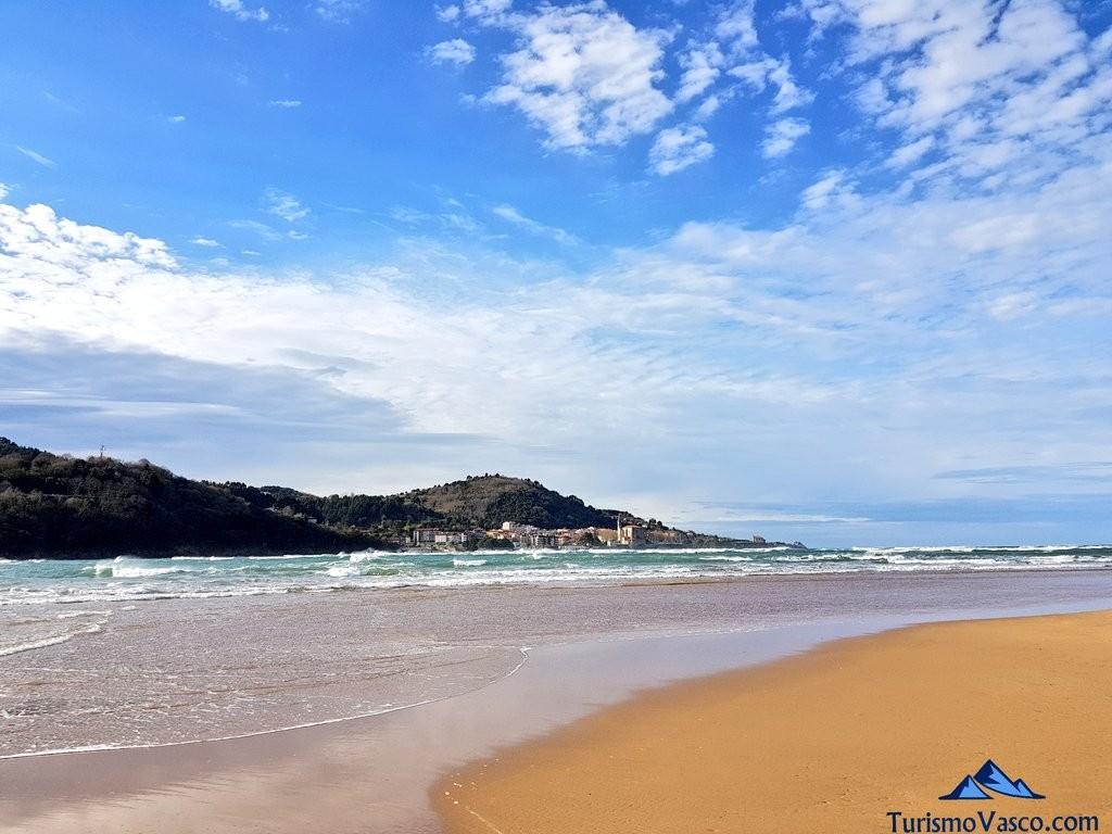 Playa de Laida y mundaka