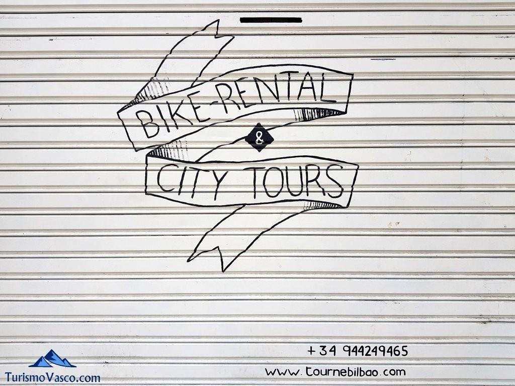 Tourne Bilbao, alquiler de bicicletas