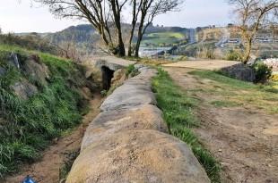 Trincheras en el Cinturon de Hierro en Sopela y Berango