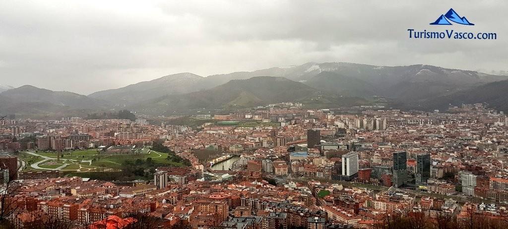 Vistas de Bilbao desde Artxanda