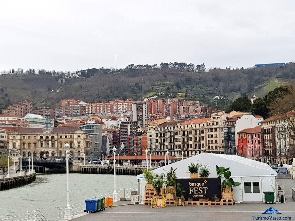 Basque fest en el arenal de Bilbao