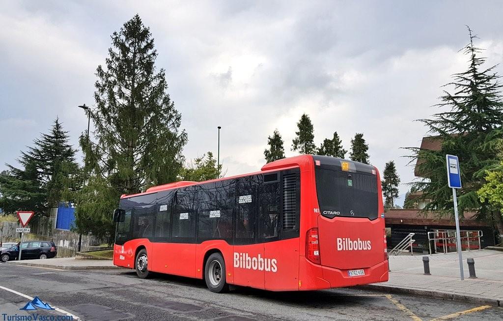 Bilbobus en Artxanda