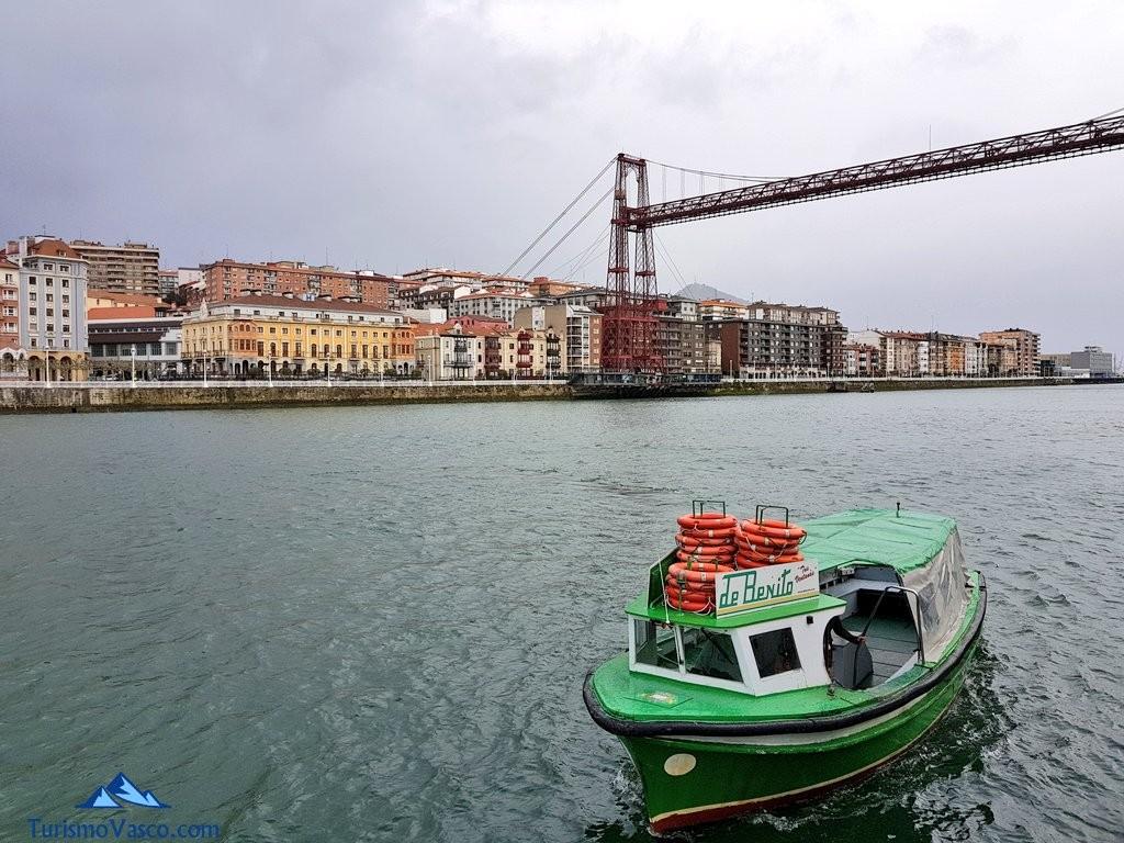 Bote y Puente Bizkaia